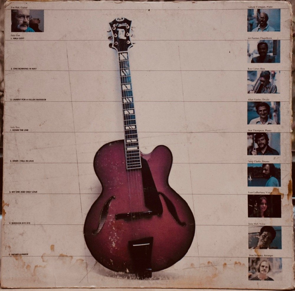 "Jim Hall's ""Commitment"" (1976) / D'Aquisto archtop guitar"